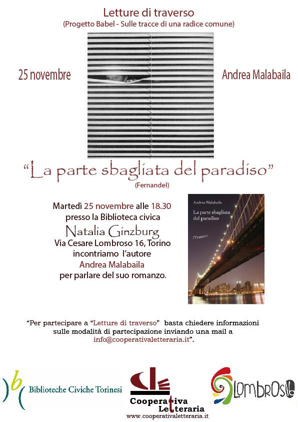 Letture di traverso- Andrea Malabaila
